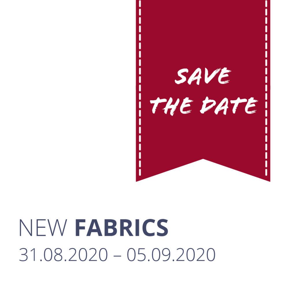 Einladung New Fabrics